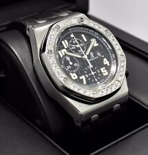 Audemars Piguet Royal Oak Offshore Chronograph 3.50Ct Diamond Bezel *MINT*