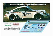 DECALS 1/43 PORSCHE 911 UZZENI RALLY MONZA 1986