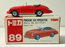 Tomy Porsche 356 Speedster 1:59 Red