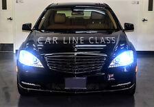 Pair D1S Bulbs Xenon Hid Ice Blue 8000K Low Beam Mercedes S Class W221 2005-2013