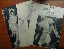 MARIAGE MARGRIET DE HOLLANDE PIETER VAN VOLLENHOVEN  document photo 1967