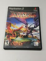 Wrath Unleashed (Sony, Playstation 2,  PS2) - LucasArts - Tested NO Manual
