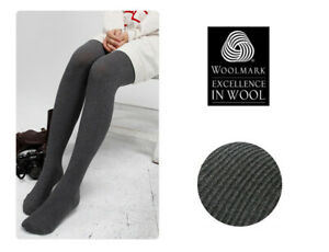 Wool Winter Women Warm Leggings Pantyhouse Stockings Thermal Knit Cotton