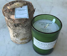 DW HOME CANDLE EVERGREEN SPRUCE 1 WICK GREEN GLASS JAR BIR7411 42HRS NEW