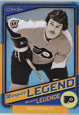 12-13 OPC Dave Schultz /100 Rainbow BLACK Legend OPEECHEE Flyers 2012