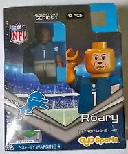 Detroit Lions Mascot NFL OYO Brick Toy Action Figure