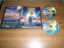 STAR WARS The Clone Wars Special Edition 2-Disc Set DVD Animated