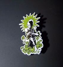 ROZZNET 20 Year Anniversary ROZZ WILLIAMS Limited ENAMEL PIN art by GRIS GRIMLY