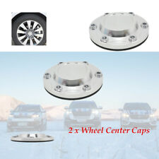 2Pcs/set 96mm Aluminum Alloy Car Wheel Center Hubs Caps Rim Covers Durable
