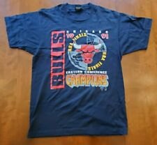 VINTAGE 1991 CHICAGO BULLS NBA FINALS EASTERN CONFERENCE CHAMPS LARGE T-SHIRT