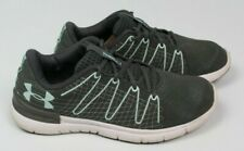 Under Armour Men's Thrill 3 gray turquoise blue Running Athletic Shoes Size 9.5