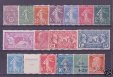 FRANCE STAMP ANNEE COMPLETE 1927 NEUVE xx LUXE , 16 TIMBRES , VALEUR : 1539€