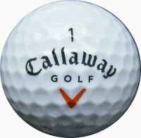 25 Callaway HX Hot Golfbälle im Netzbeutel AAAA Lakeballs gebrauchte Bälle Golf