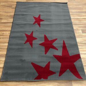 Quality star  Rug lounge bedroom children's 120cm x 170cm  (634)