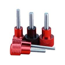 M616(40pcs) M618 Zinc Plated Carbon Steel Thumb Screw Flat Knurled Head Bolts Fastener 40pcs Thumb Screws M616