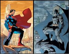 BATMAN #608 & SUPERMAN #204 Hush Poster Set Jim Lee & Scott Williams DC Direct
