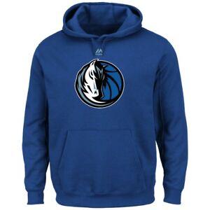 "Dallas Mavericks Majestic NBA ""Supreme Logo"" Men's Pullover Hooded Sweatshirt"