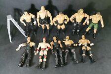 WWE Jaks Wrestling Figures Bundle x 14 figures and Ladder