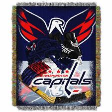 "Washington Capitals ""Home Ice Advantage"" Woven Tapestry Throw 48""x60"""
