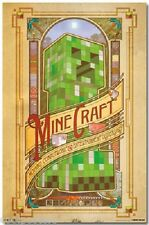 JINX MOJANG MINECRAFT COMPUTRONIC COMPUTER VIDEO GAME POSTER 22x34 FREE SHIPPING