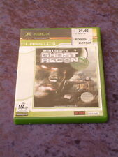 XBOX Tom Clancy's Ghost Recon with original manual MA15+