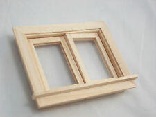 Casement Working Window dollhouse 1:12 scale #5050 1pc Houseworks wooden