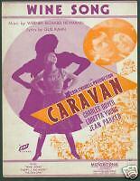 Caravan - Wine Song - Loretta Young, Charles Boyer 1934