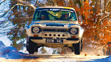 Ford Escort RS1600 Rally Monte Carlo XXL 1 Meter Glossy Poster **UK SELLER**