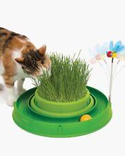 Catit Play 3in1 Spielzeug Katze Katzengras Futter Ball