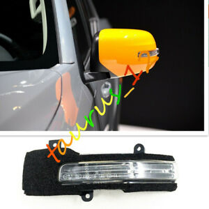 For Mitsubishi L200 Triton 2015~2018 LED Left Rear View Mirror Light Turn Signal