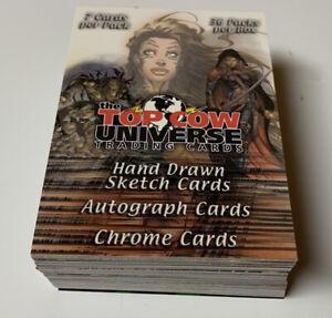 Complete Set of (72) 2002 TOP COW UNIVERSE Comic Art Set DYNAMIC FORCES