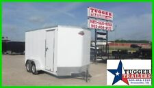 7 x 14 14ft Motorcycle Bike Harley UTV ATV Mower Camping Enclosed Cargo Trailer