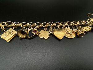 Fabulous Vintage Monet Charm Bracelet
