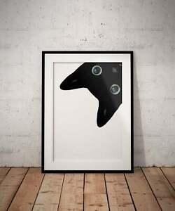 Black Cat Print Wall Art Poster Art Print Cat Print Wall Decor Wall Art Cat Love