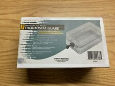 WHITE RODGERS UNIVERSAL CLEAR PLASTIC THERMOSTAT GUARD WITH KEY LOCK