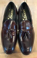 Hanover For Hanig's Of Chicago Vintage Shell Cordovan Tassel Loafers New Rare