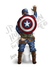 CAPTAIN AMERICA Bathroom Peeing Print Picture Poster Picture  Marvel Towel Thor