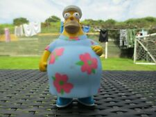 2001 Burger King The Simpsons - Large Fat Homer Muumuu Dress Action Figure Toy