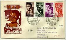 SOBRE PRIMER DÍA. IFNI. PRO INFANCIA. 1954