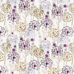 Mothers Day Wrapping Paper,Beautiful Watercolour Wild Flowers Wrapping Paper