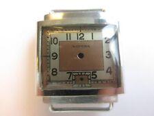 Supera 40's N.O.S. vintage men's watch case & bicolor dial ~ mod V