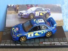 Subaru Impreza Wrc97 1/43 Monte Carlo 1997 Liatti/pons - IXO