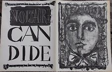 Antoni CLAVE Candide de Voltaire - Lithographie litografia lithograph 1946 1948*