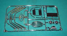 "Lindberg Hot Canary ""T"" 1/8 Chrome Pipes Grille Etc."
