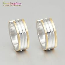 Hot Sale Mixed Color  White Gold Plated Lady Ear Jewelry Hoop Earrings