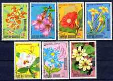 Flore - Fleurs Paraguay (56) série complète de 7 timbres oblitérés
