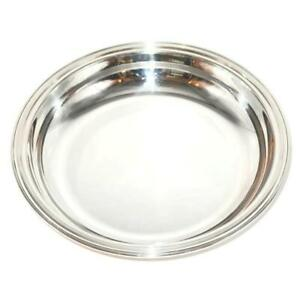 """Christofle Silverplate ALBI Round Serving Bowl, 10 1/2"""" Across"""