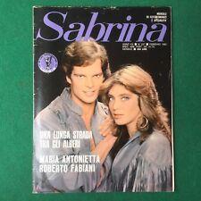 SABRINA n.227/1983 ROBERTO FABIANI Fotoromanzo Lancio (ITA Rivista Magazine