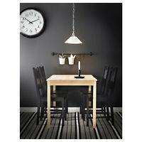 Table En Massif Pin; (120x75cm) à Manger Table de Cuisine Table en Bois