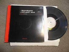 Apocalypse / Sell Your Soul by The Advocate 12 LP single UK IMPORT drum n bass